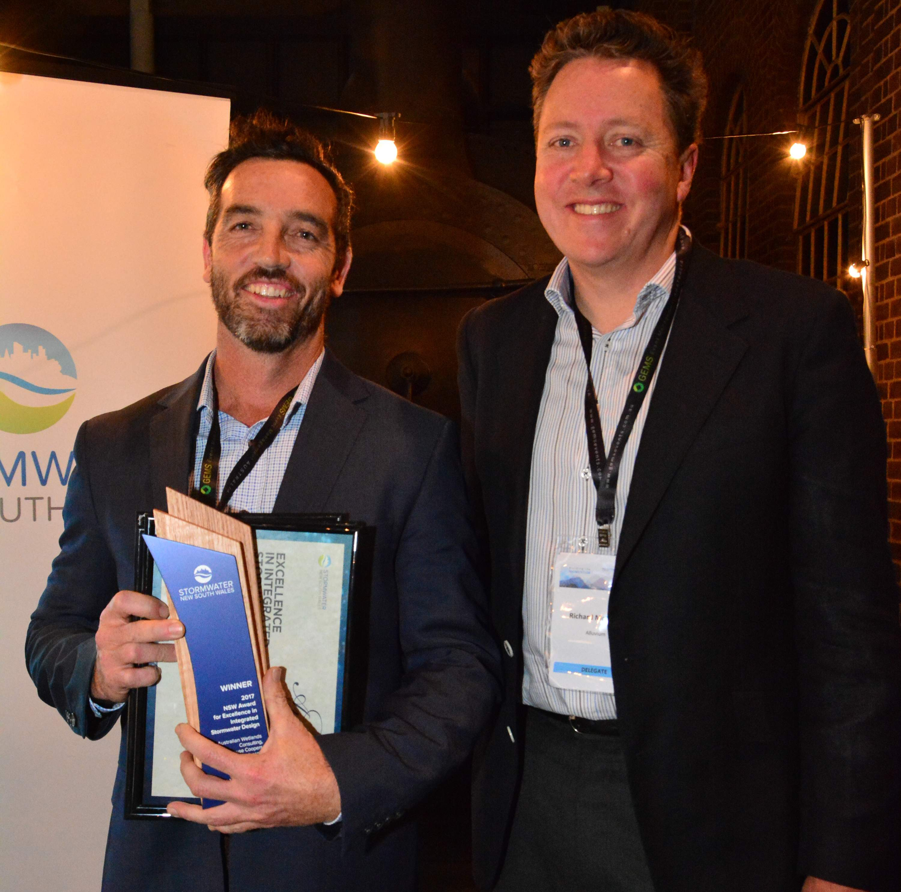 AWC wins 2017 Stormwater NSW Awards for Excellence