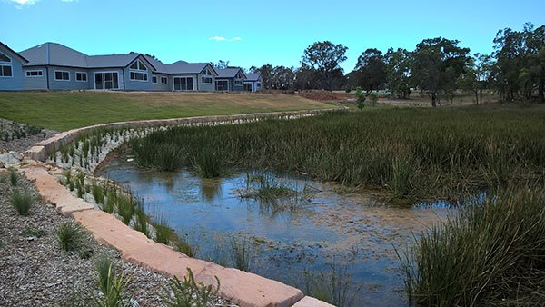 Kirkham Rise, Water Body and Stormwater Treatment System
